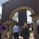 Visiting the Alumni Arch