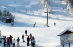 Skiiers at Mount Kato