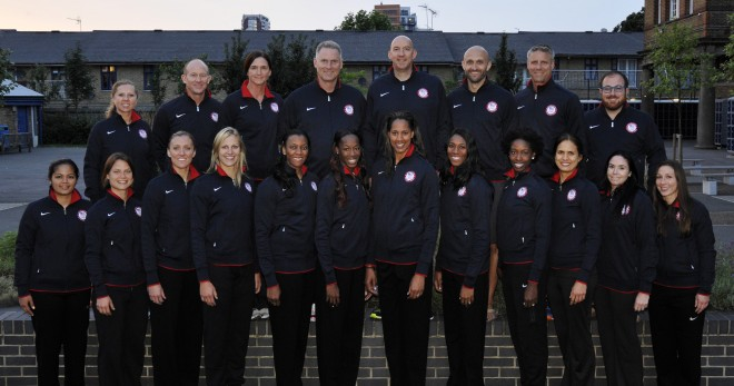 2012 USA Womens Volleyball Team Photo